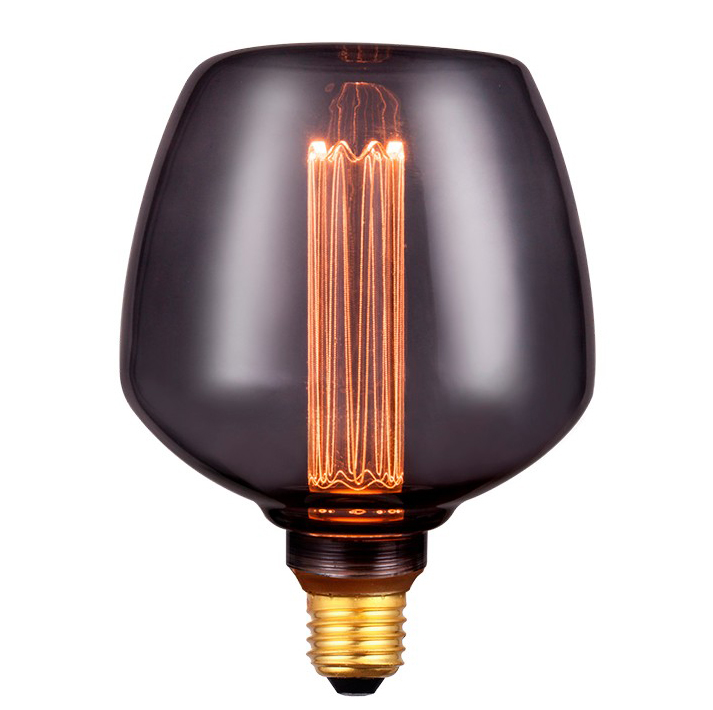 Ampoule LED 4W 1800K fumé E27 163mm X 123mm